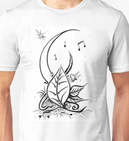 Music Moon Leaves T-Shirt