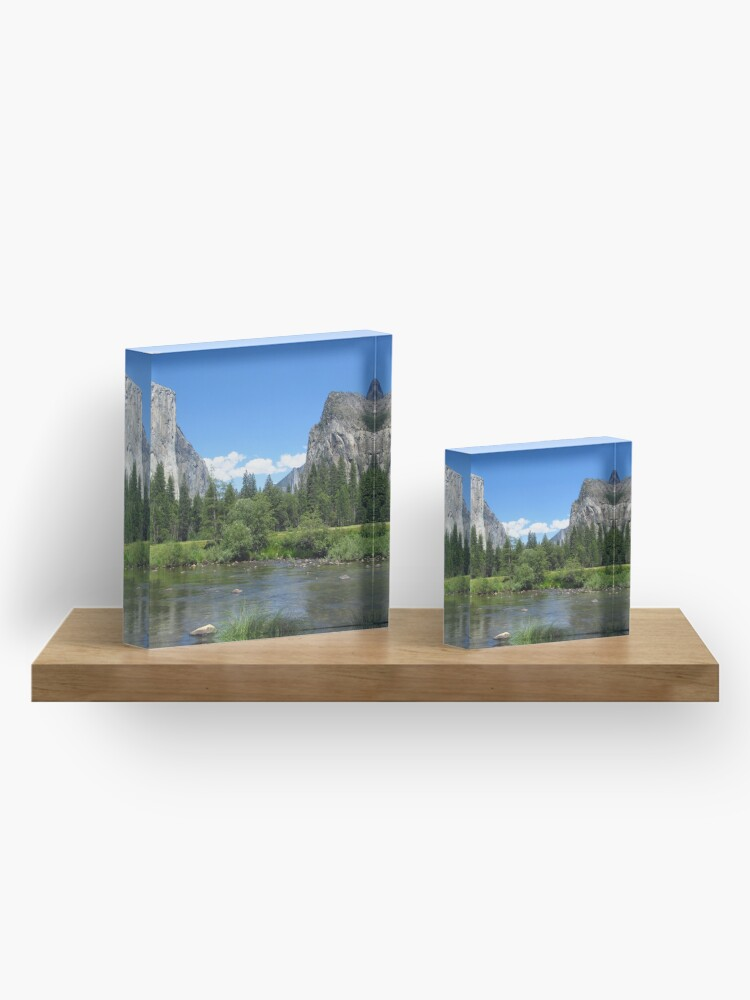 Alternate view of Yosemite National Park Sticker Acrylic Block