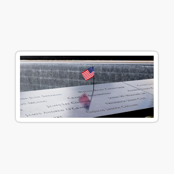 Remembering 9/11/2001 - Welles Remy Crowther .2 Sticker
