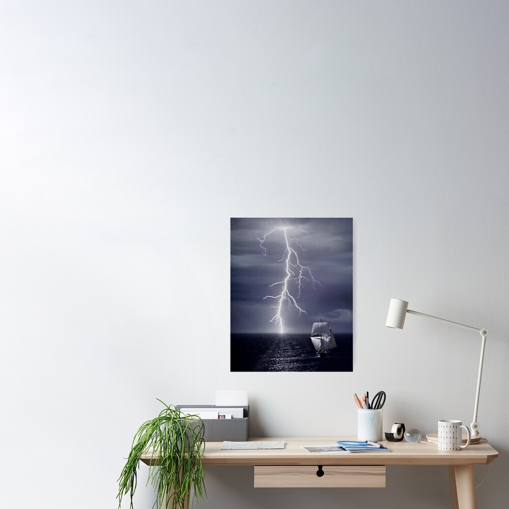 Escaping from Storm Poster