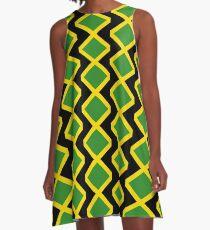 Jamaica Cushion  A-Line Dress