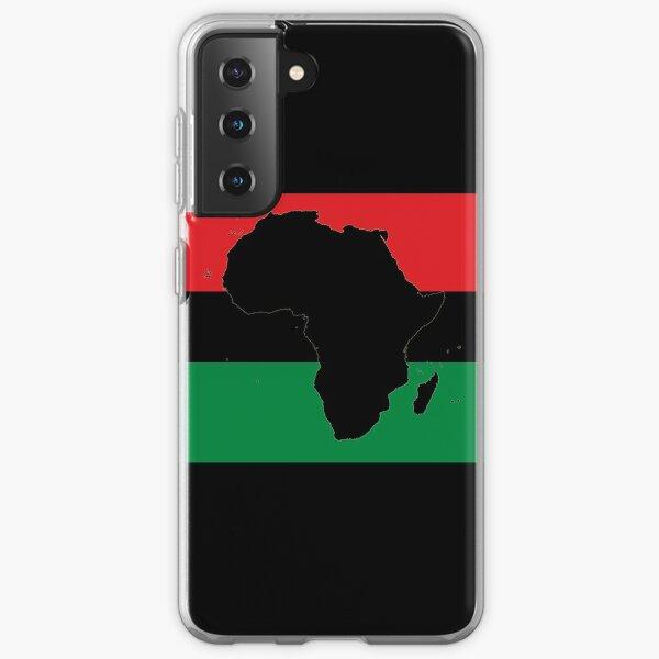 Symbol of Africa - Pan African Flag Samsung Galaxy Soft Case