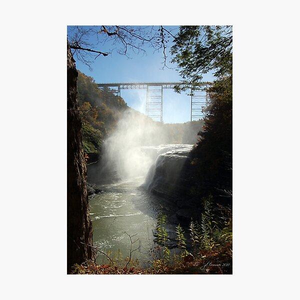 Autumn Falls Photographic Print