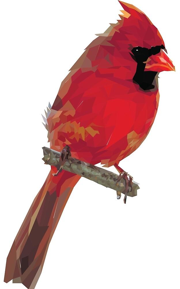Crystalline Cardinal by Marshall Diveley