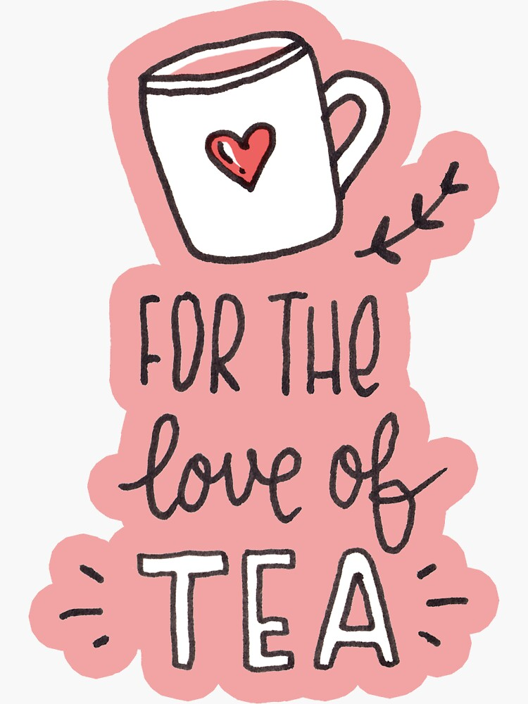 Tea illustrated pattern by mirunasfia