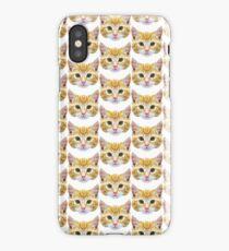 Crystalline Cat iPhone Case/Skin