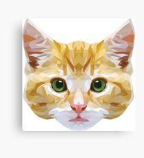 Crystalline Cat Canvas Print