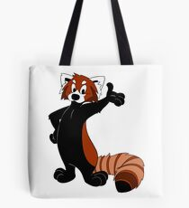 Rusty Red Panda Tote Bag