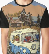 Grateful Dead - Bear Vacation Graphic T-Shirt