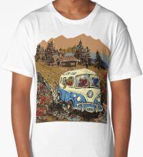 Grateful Dead - Bear Vacation Long T-Shirt
