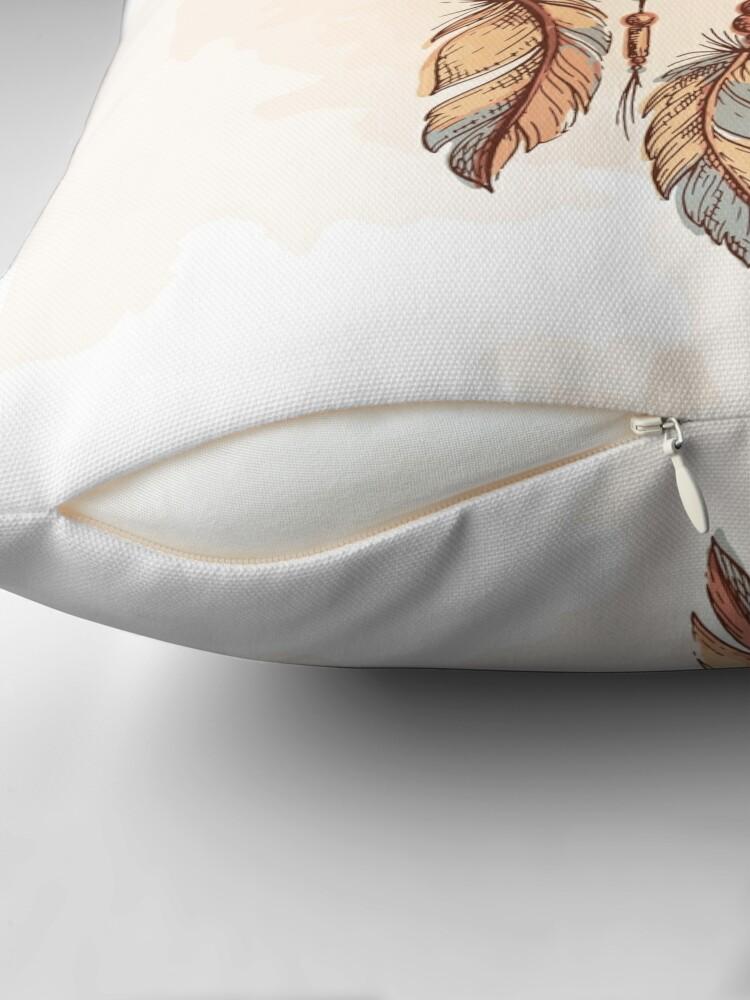 Alternate view of Official Dream Catcher  Throw Pillow