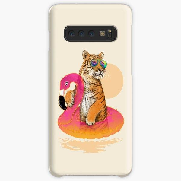 Chillin, Flamingo Tiger Samsung Galaxy Snap Case