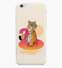 Chillin, Flamingo Tiger iPhone 6 Case