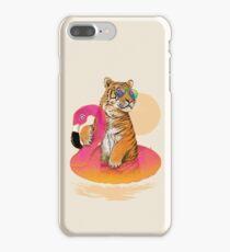 Chillin, Flamingo Tiger iPhone 7 Plus Case