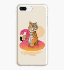 Chillin, Flamingo Tiger iPhone 8 Plus Case