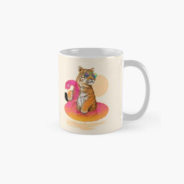 Chillin, Flamingo Tiger Classic Mug