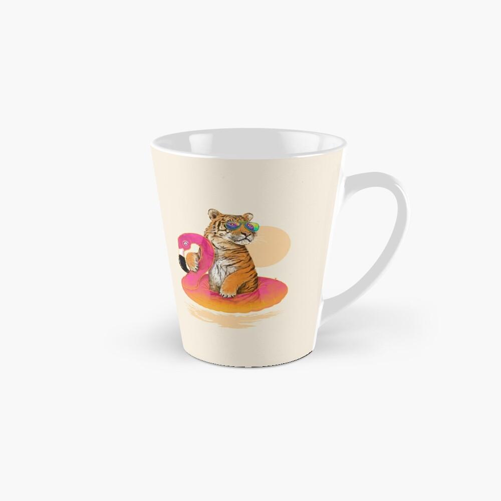 Chillin, Flamingo Tiger Mug