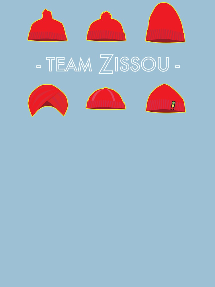 Hats of Team Zissou | Unisex T-Shirt