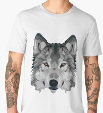 Crystalline Wolf Men's Premium T-Shirt