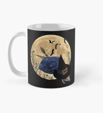 Blue Tongued Skink Witch  Mug