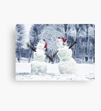 Reaching out to wish you Happy Holidays! Canvas Print