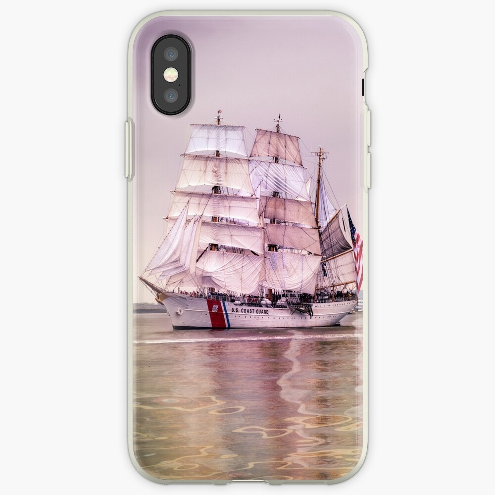 Tall Ships in Boston -USCG iPhone Case & Cover