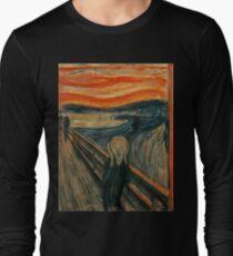 Camiseta de manga larga Edvard Munch - El grito