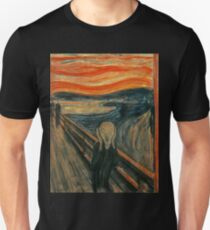 Edvard Munch - Le cri T-shirt unisexe