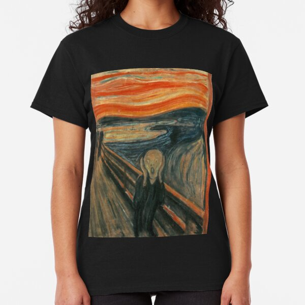 Edvard Munch - The Scream Classic T-Shirt
