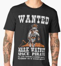space pirate - mark watney Men's Premium T-Shirt
