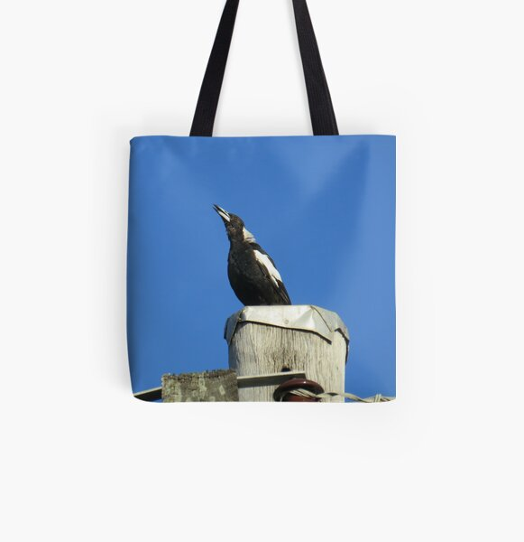 Morning Song All Over Print Tote Bag
