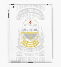 Empire battalion - I've earned it with blood tee iPad Case/Skin