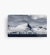 Antarctic Mountains Metal Print