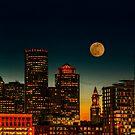 Boston Pink Moon  by LudaNayvelt