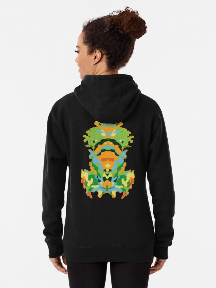 Alternate view of Tropic Totem Pullover Hoodie