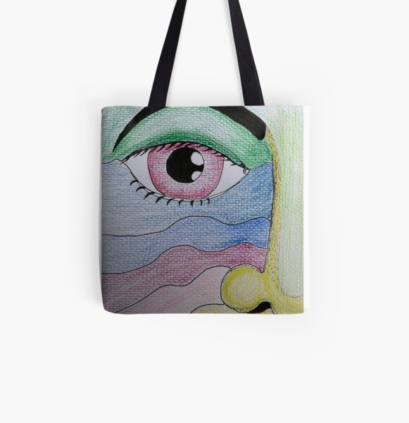 Eye See You.  All Over Print Tote Bag