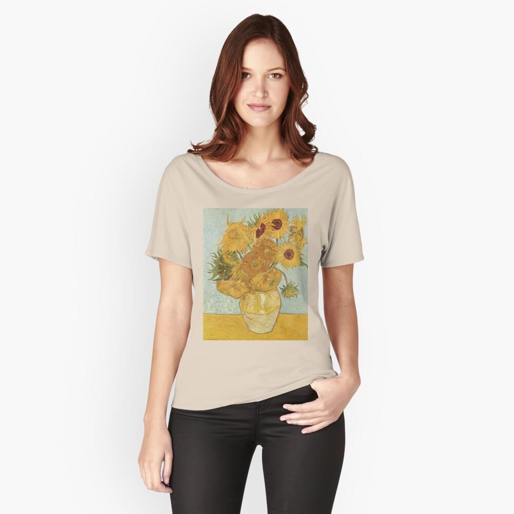 Vincent van Goghs Sonnenblumen Loose Fit T-Shirt