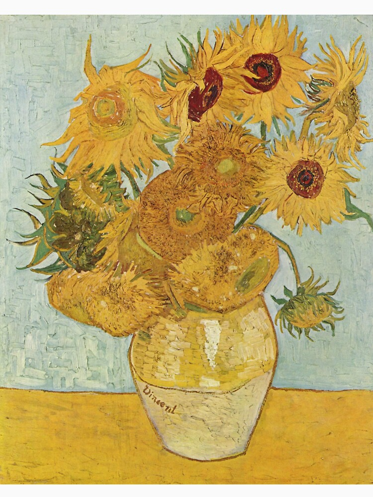Vincent van Gogh's Sunflowers by mosfunky