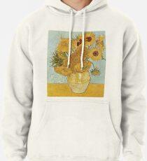 Vincent van Gogh's Sunflowers Pullover Hoodie