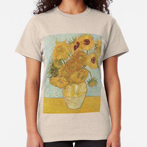 Vincent van Gogh's Sunflowers Classic T-Shirt