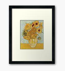 Vincent van Gogh's Sunflowers Framed Print
