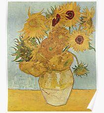 Vincent van Gogh's Sunflowers Poster