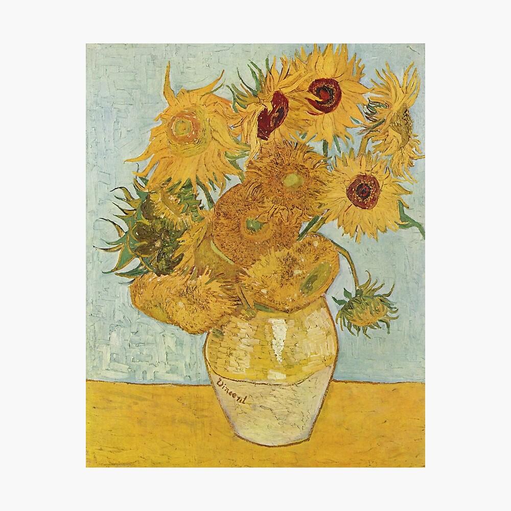 Vincent van Gogh's Sunflowers Photographic Print