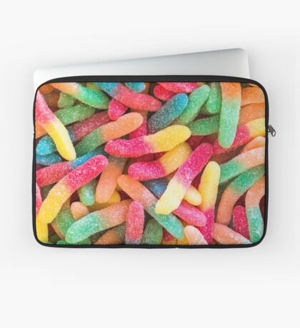 Gummy Worms Laptop Sleeve