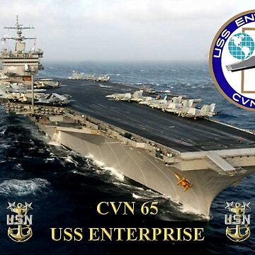 CVN-65 USS Enterprise  by BasilBarfly
