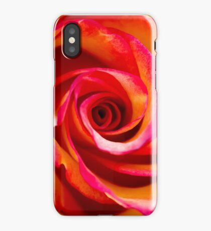 Rosey Swirl iPhone Case