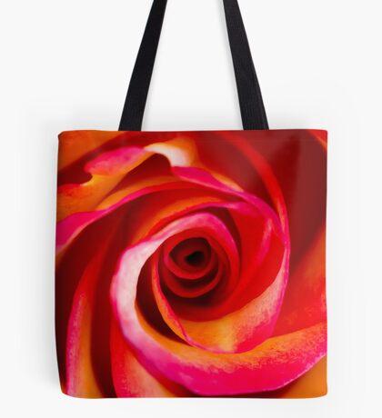 Rosey Swirl Tote Bag