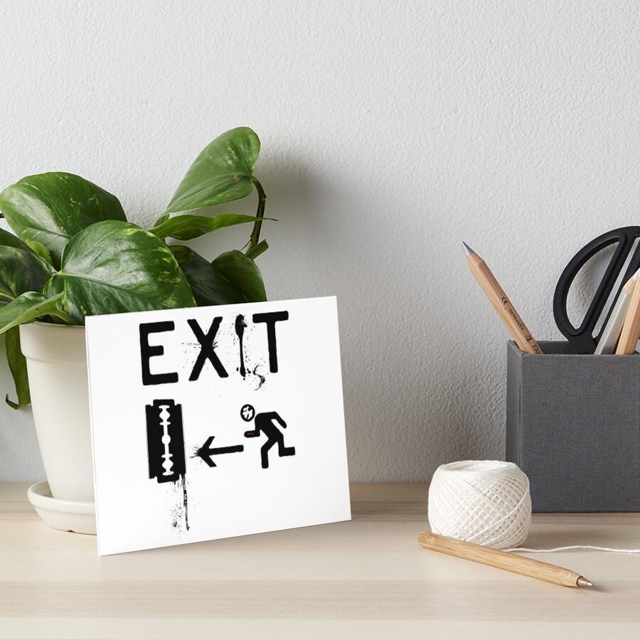 Exist - Exit by Denis Marsili