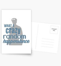 Dr. Horrible - Crazy Random Happenstance Postcards