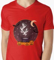 Halloween Ghosts, Pumpkins, and Bats T-Shirt